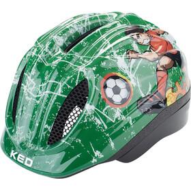 KED Meggy Trend Kask rowerowy Dzieci, soccer